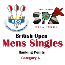 BDO British Open Mens Singles 2019